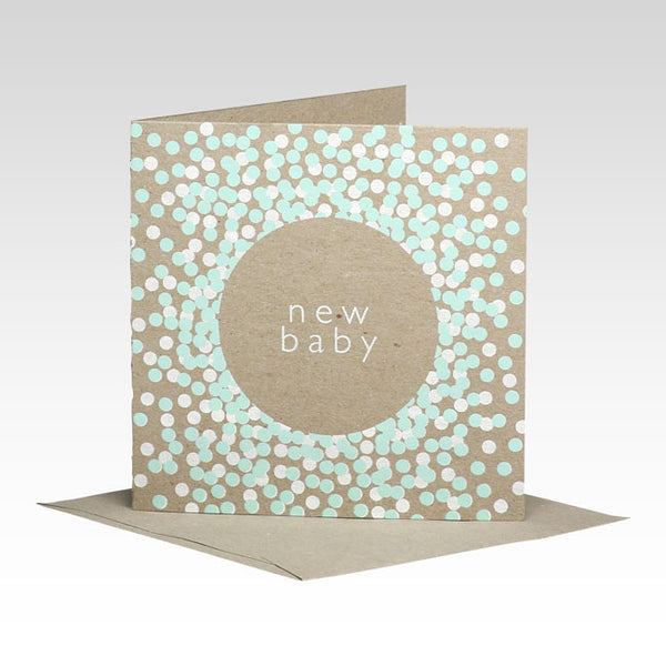 New Baby Mint Card