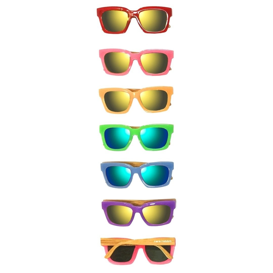 Wood Sided Bonds Sunglasses - KIDS