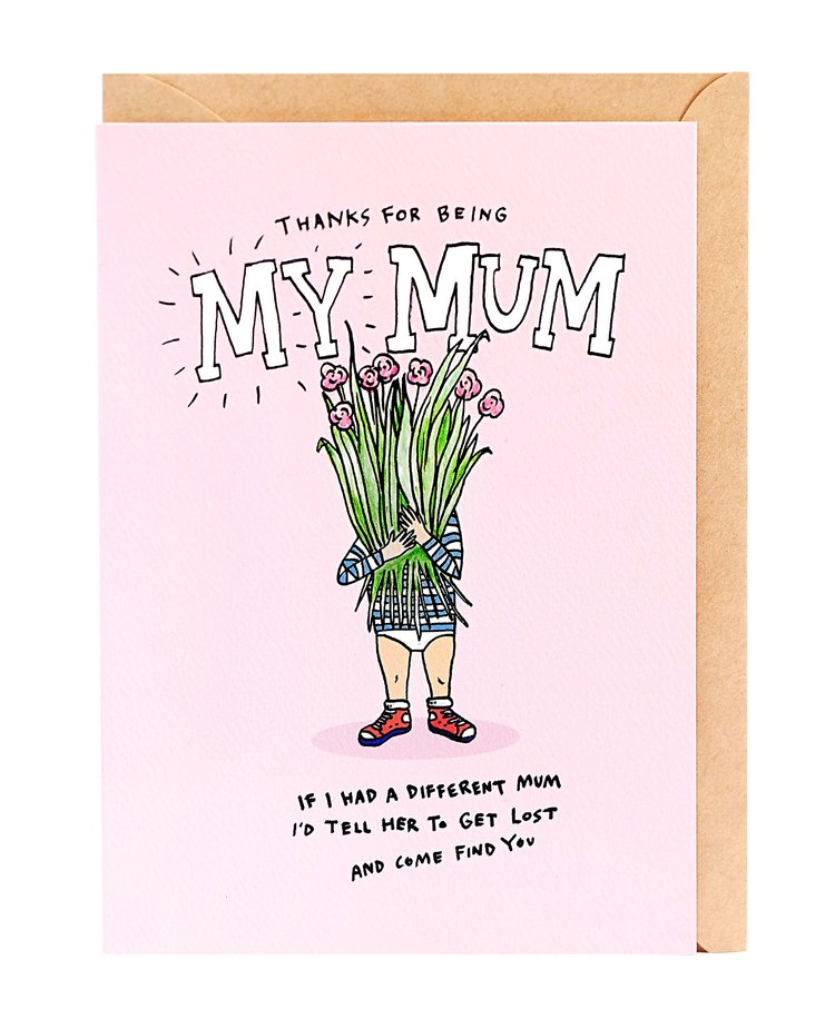 No Other Mum Greeting Card