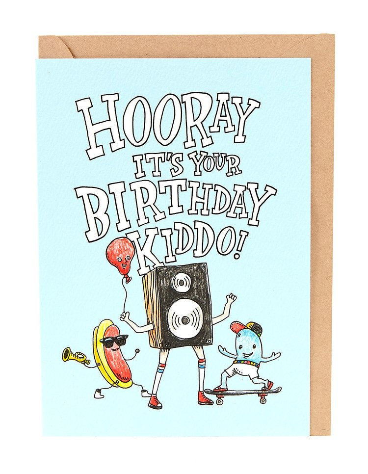 Hooray Kiddo card