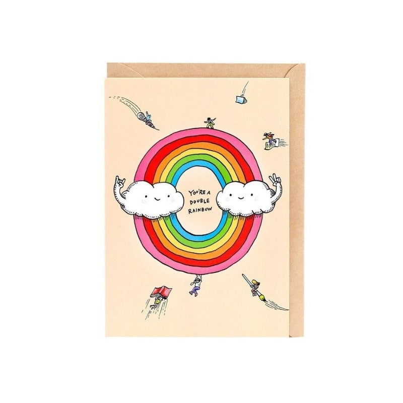 Double Rainbow - Wally Paper Co