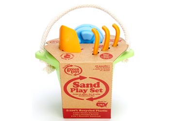 Sand Play Set  Green - Green Toys