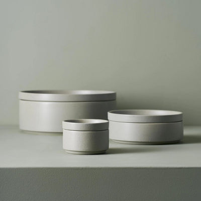 Side Bowl & Plate - Grey Stack & Serve