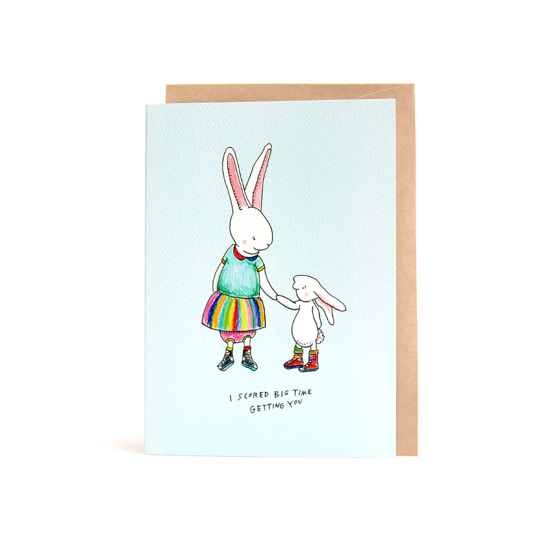 Bunny Love Greeting Card