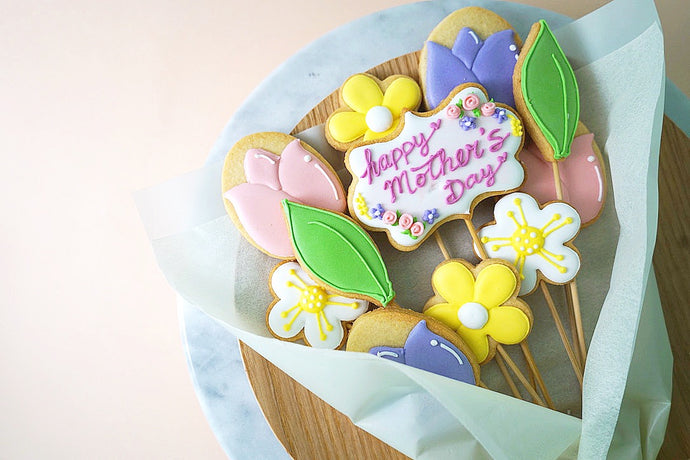 Mother's Day Workshop 2019 -  Cookie Bouquet