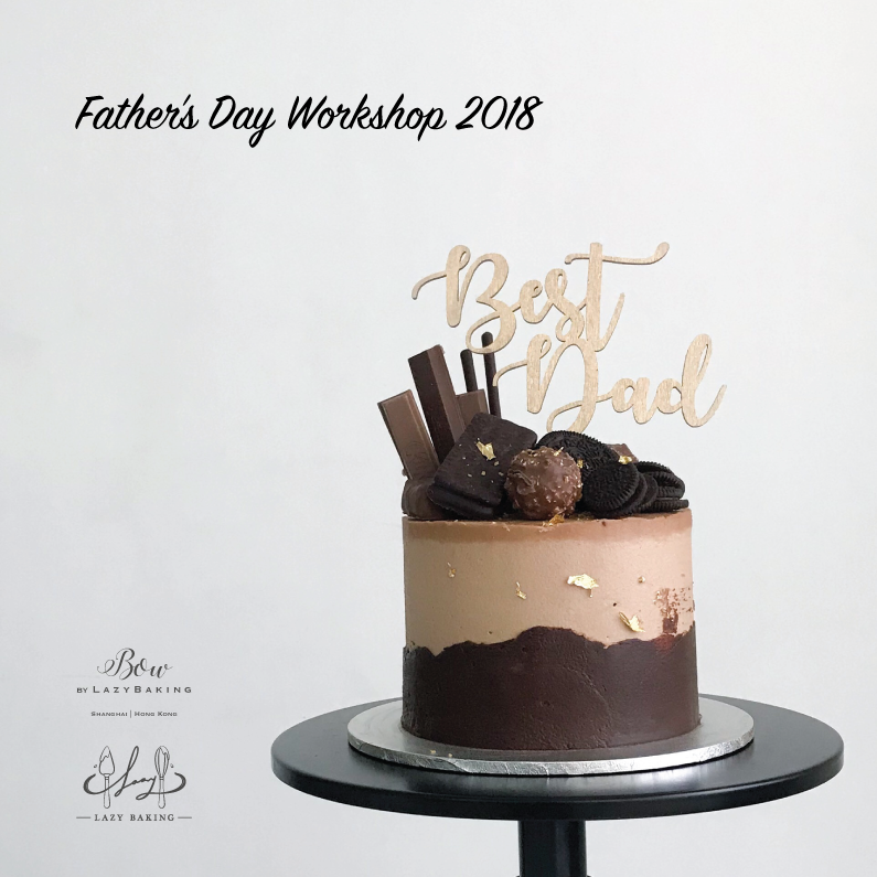 BOW by LazyBaking | Father's Day Cake | Workshop | Hong Kong