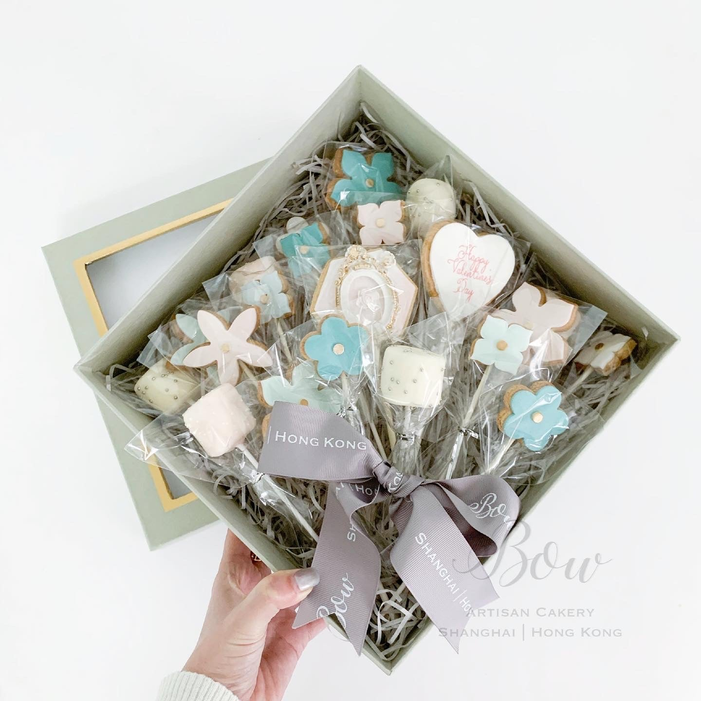 Cookie Bouquet Box - Floral