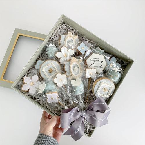 Cookie Bouquet Box - Vintage