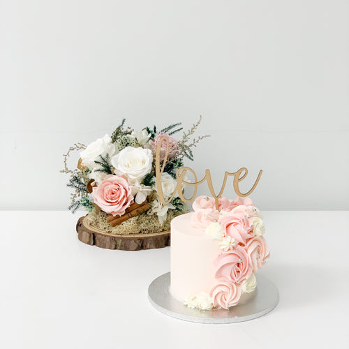Cake & Flowers | BOW Artisan Cakery | Valentine's Day 2020 | Hong Kong