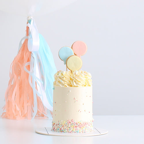 Gender Reveal Cake & Balloon | BOW Artisan Cakery | Baby Shower | Hong Kong