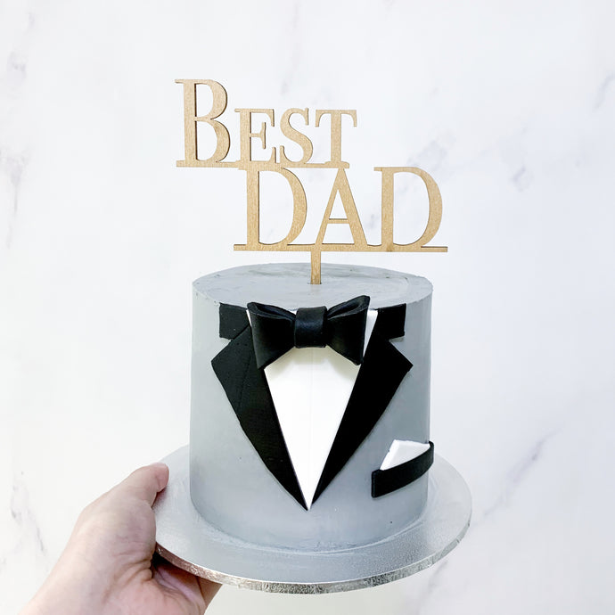 Father's Day Tuxedo Cake | BOW Artisan Cakery | Cakes | Hong Kong