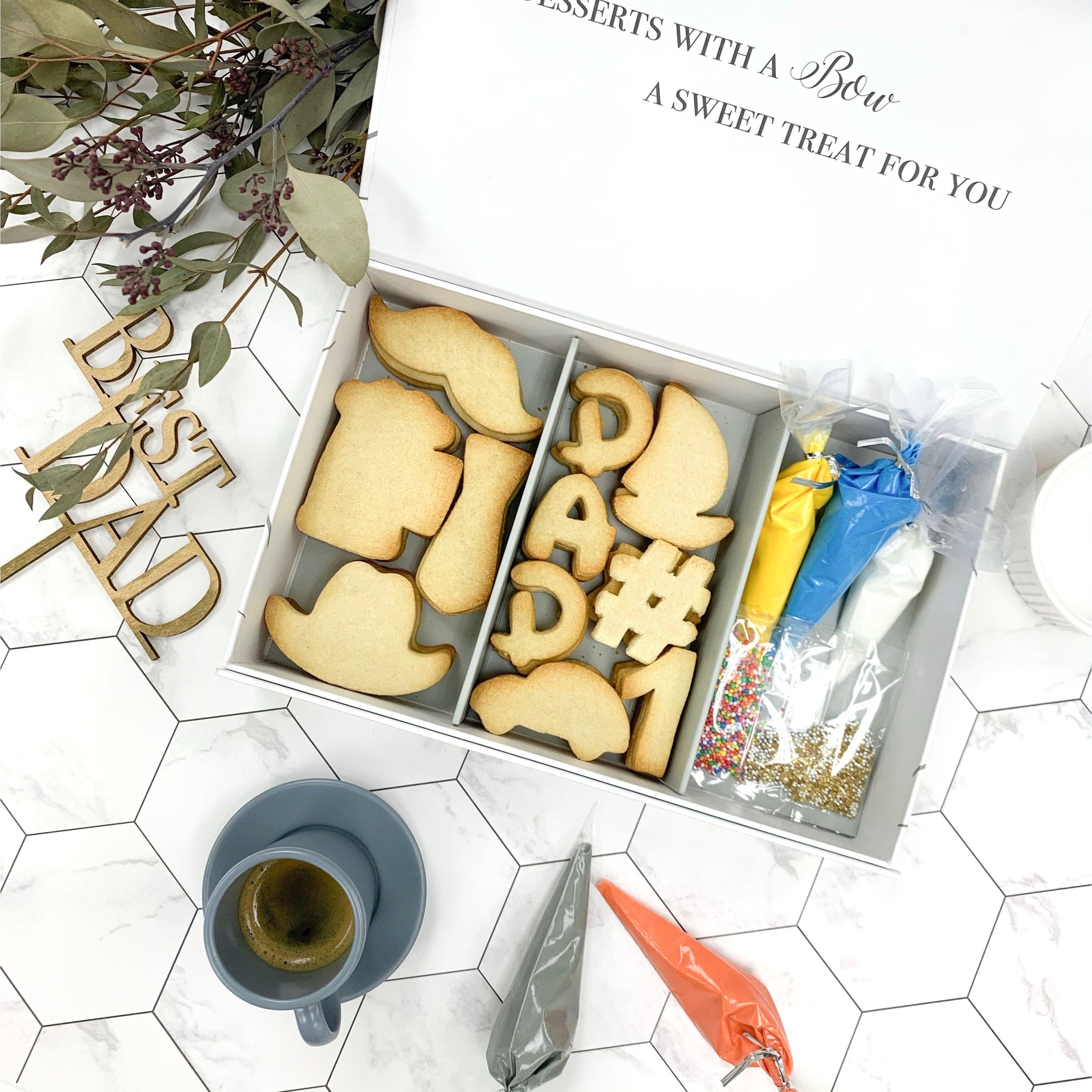 #1 DAD Cookie D.I.Y. Set | BOW Artisan Cakery | Cookies | Hong Kong