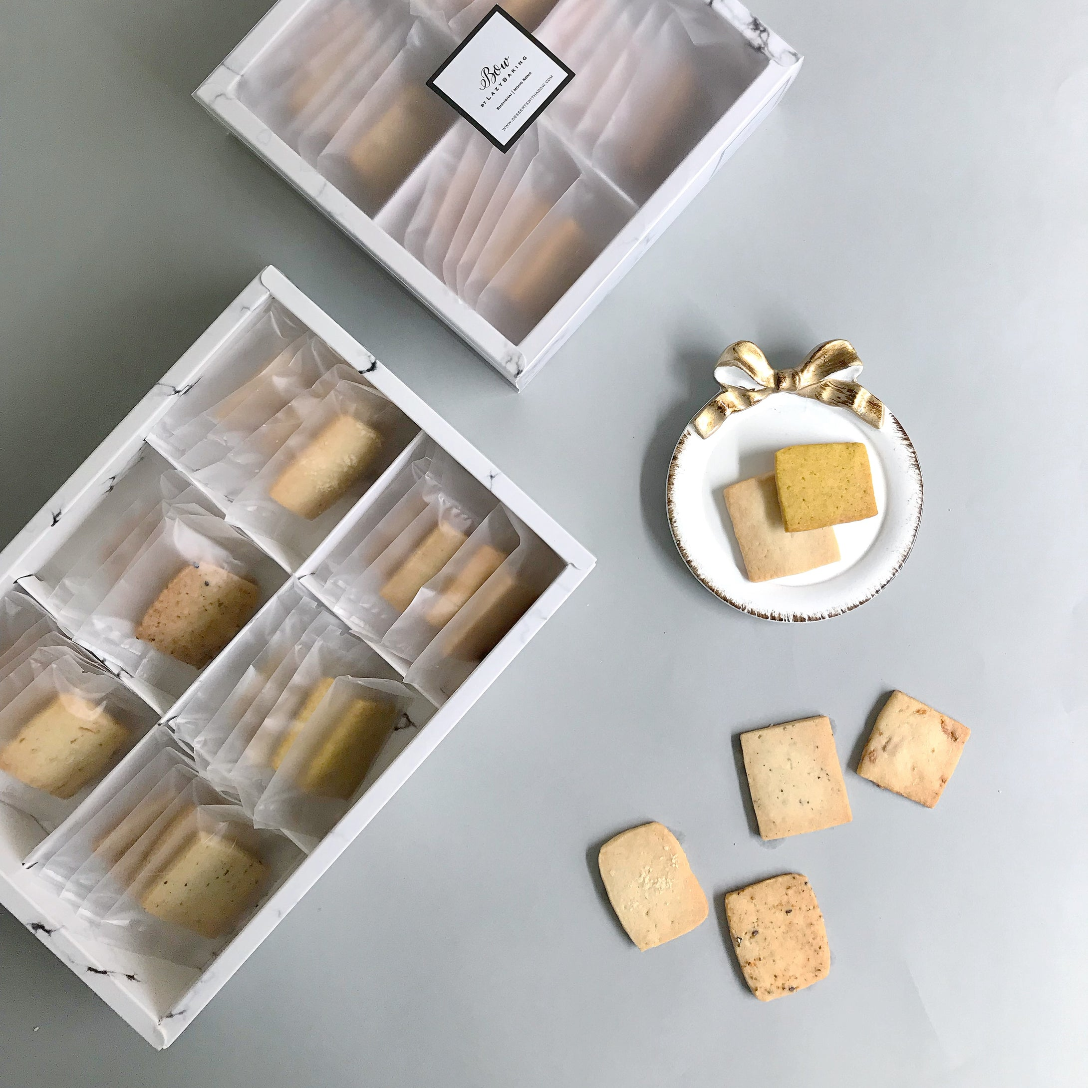 Handmade Cookies Gift Set | BOW by LazyBaking | Wedding Cakes & Sweet | Hong Kong