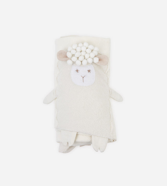 Multifunction Doll Hoodie Baby Blanket - Sheep Sophie