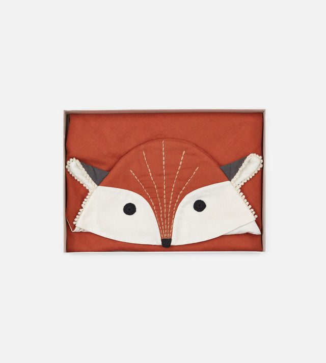 Baby Hooded Blanket - Fox Daniel