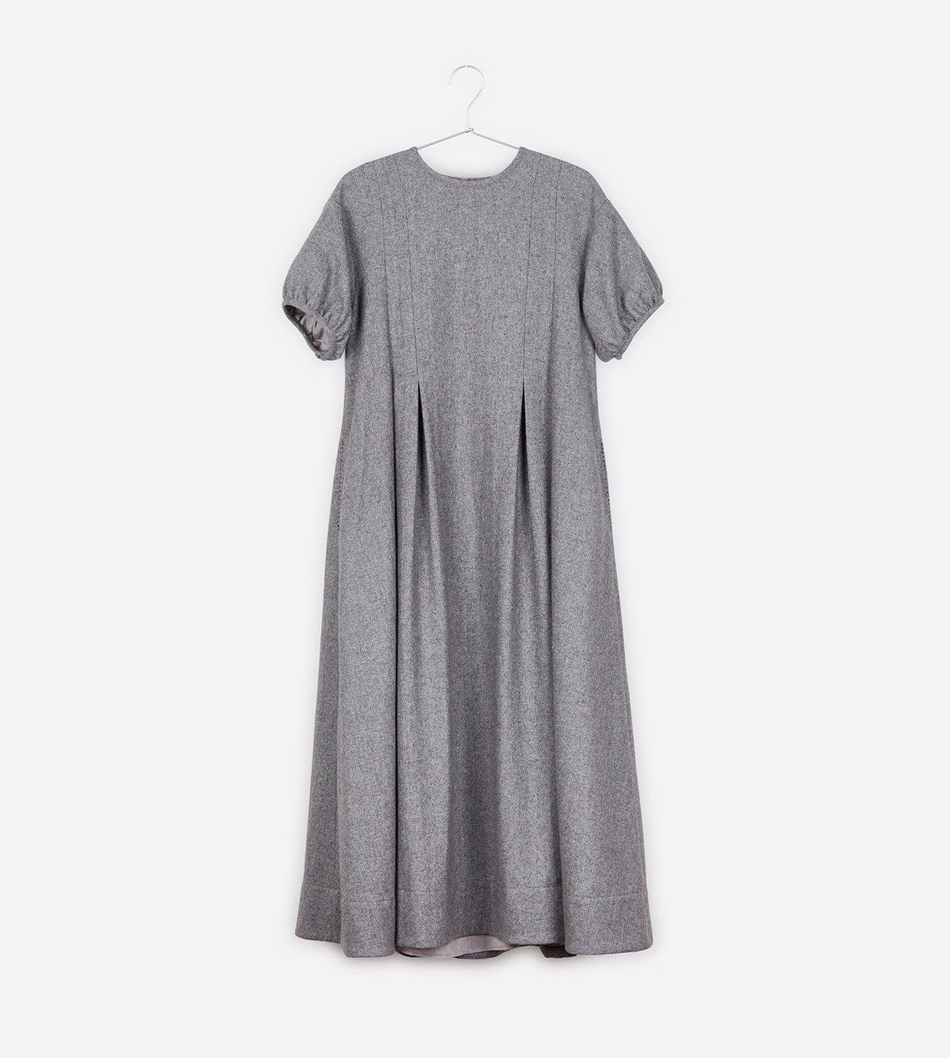Puff Sleeves Dress