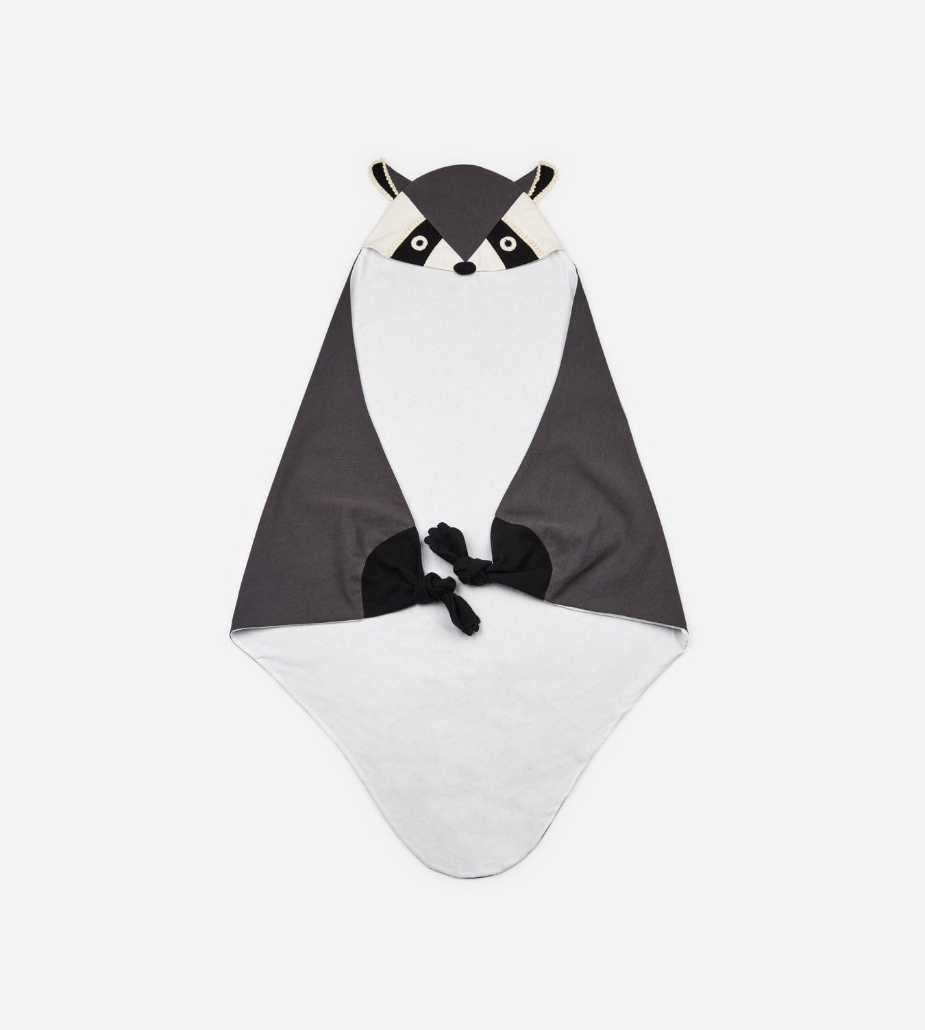 Baby Hooded Blanket - Raccoon Dr. Jones