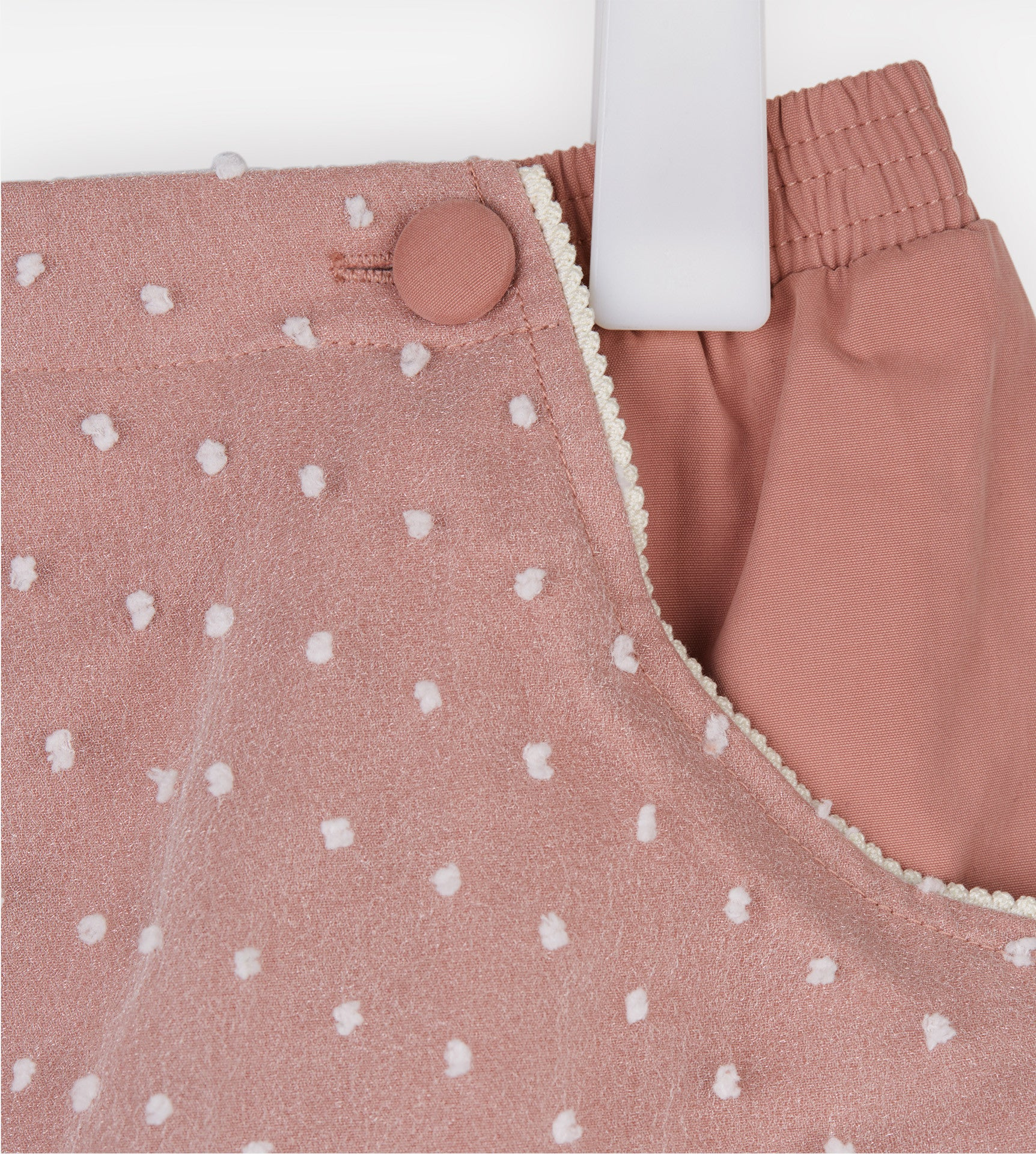 Polka Dot Bubble Shorts