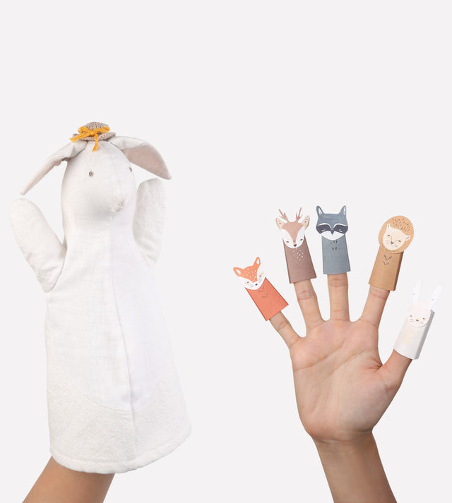 Sophie Sheep Puppet and Finger Puppets