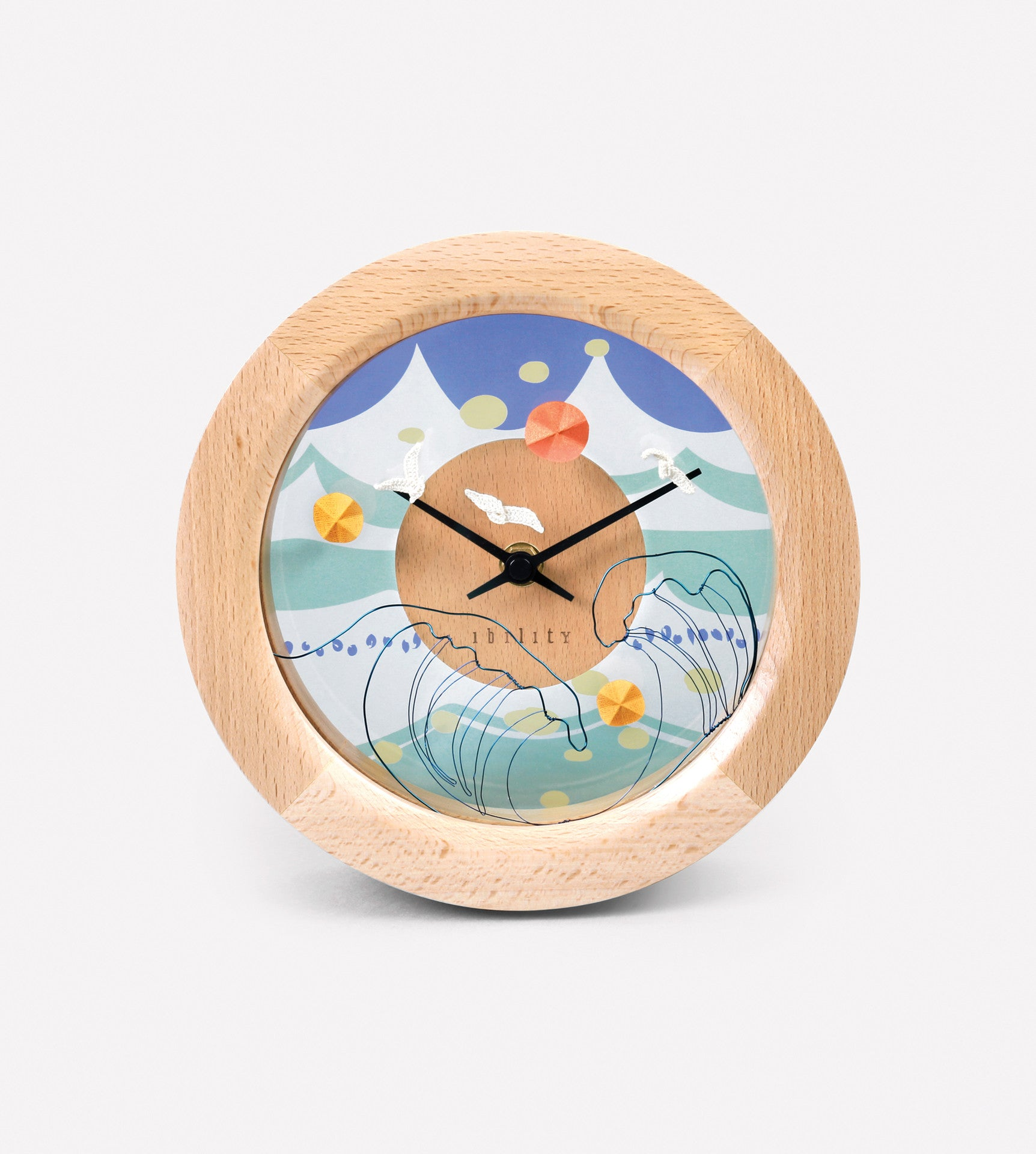 ibility - DIY Four Season Beech Clock (Summer)