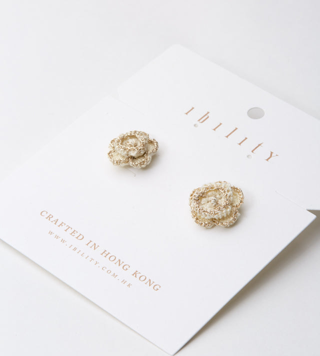 Daffodil Golden Earrings