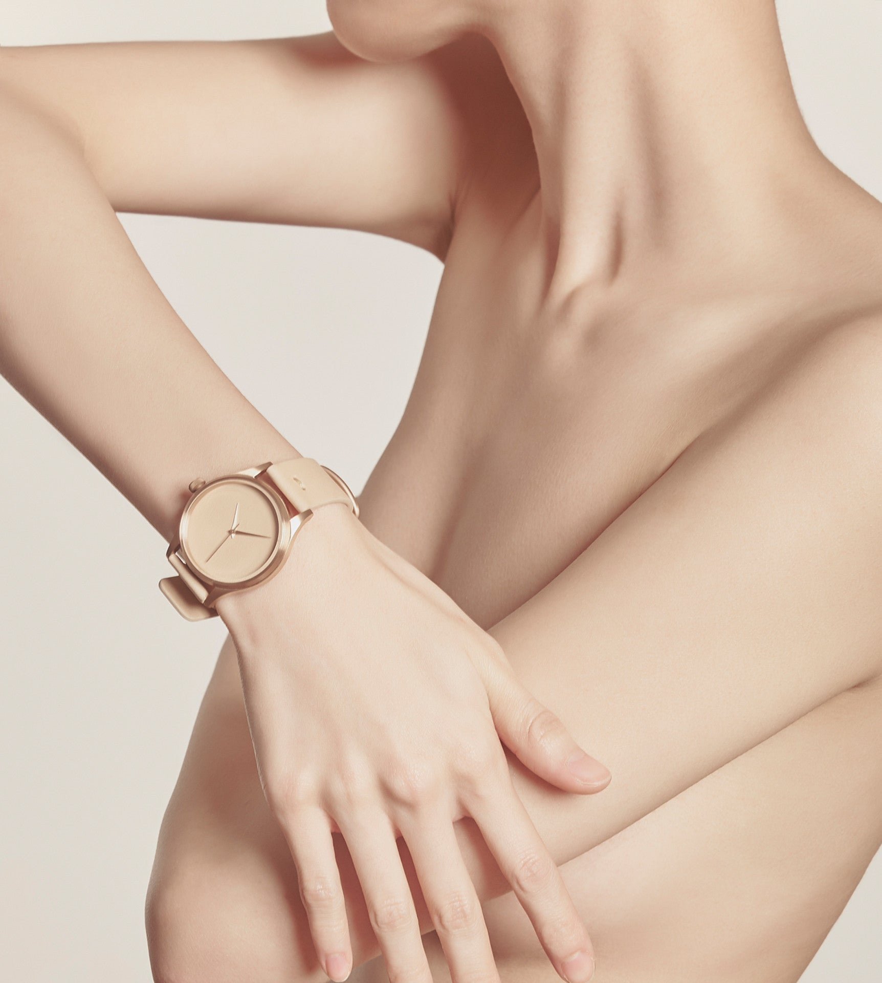 In One's Skin Watch (Ivory)
