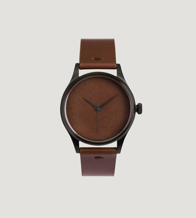 In One's Skin Watch (Dark Chocolate)