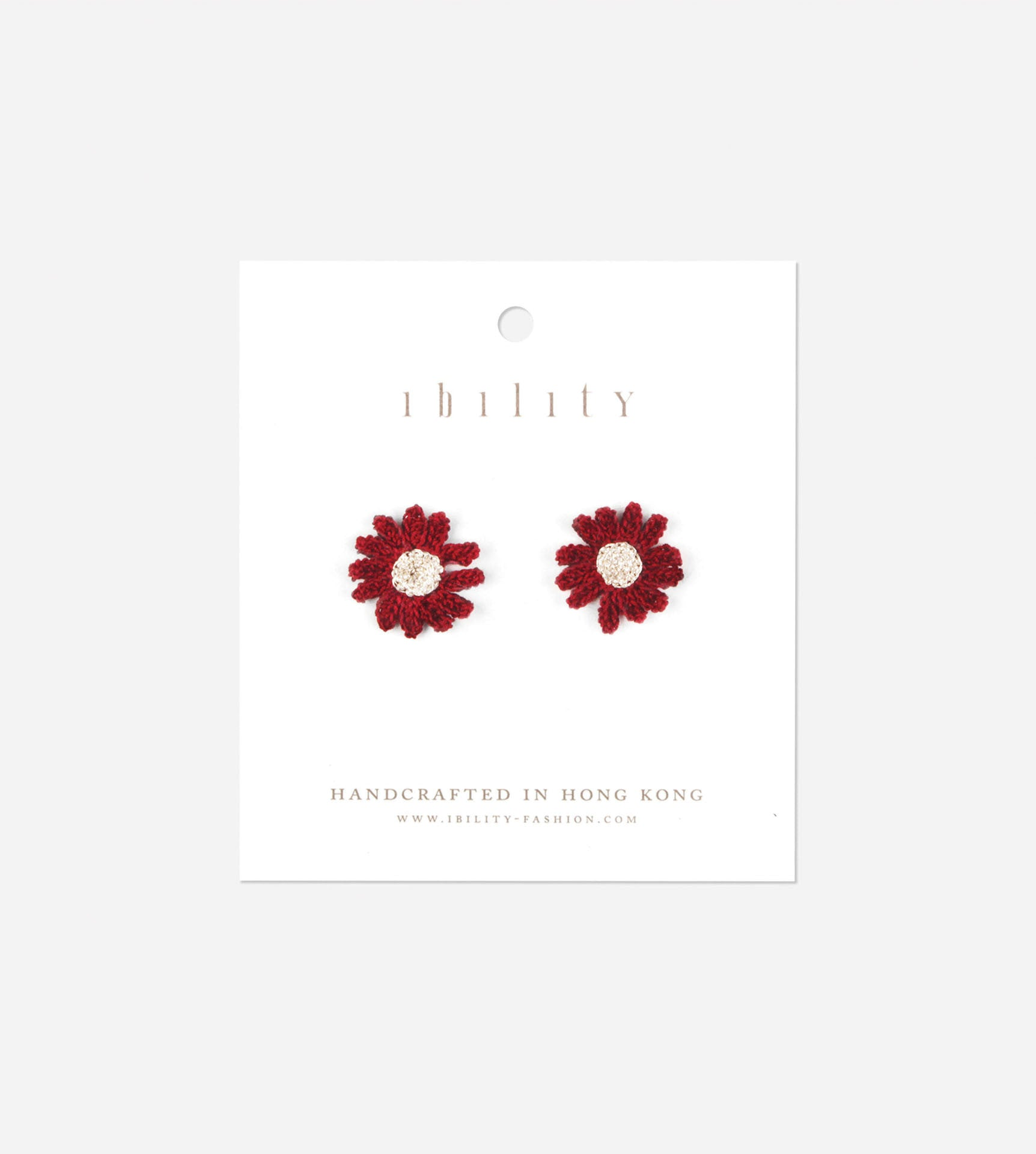 Daisy Crochet Earrings