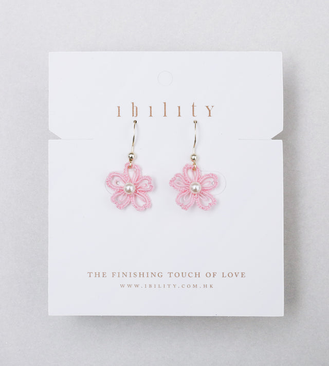Sakura Tatted Drop Earrings