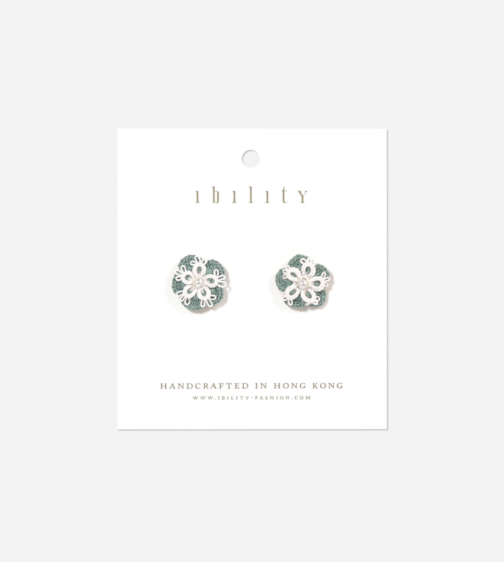 Snowflake Tatted Earrings
