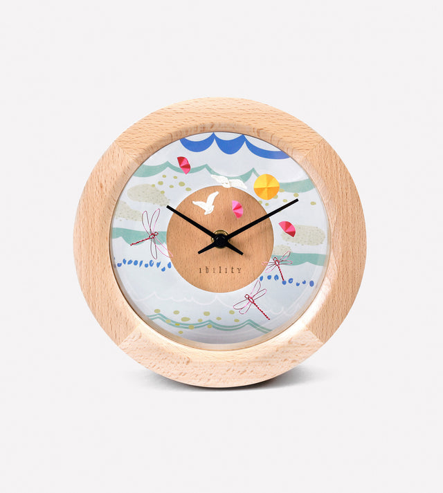 DIY Four Season Beech Clock (Summer)