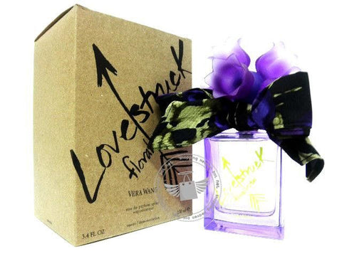 TESTER-VERA WANG LOVE STRUCK FLORAL RUSH EDP/WOMEN(NO CAP) - BonjourCosmetics.net