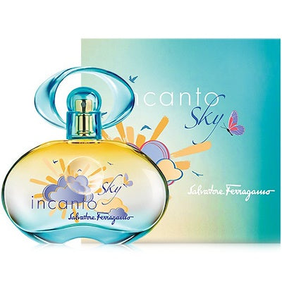SALVATORE FERRAGAMO Incanto SKY EDT for HER 30ml/50ml/100ml and Miniatures
