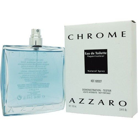 Azzaro Chrome (EDT /Tester/Men) - BonjourCosmetics.net