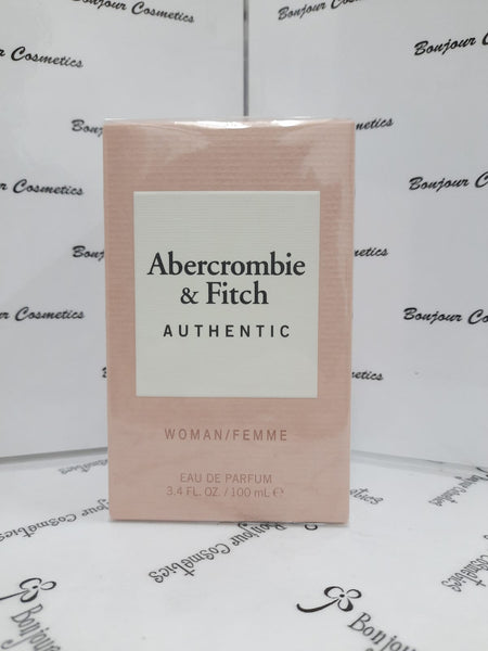 ABERCROMBIE & FITCH Authentic woman/femme EDP 100ml (ORIGINAL Packaging)