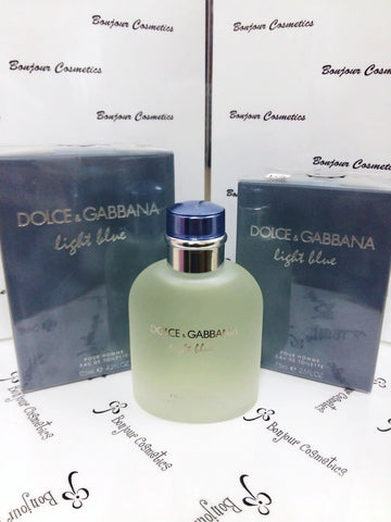 DOLCE and GABBANA Light BLue pour homme EDT (ORIGINAL Packaging)