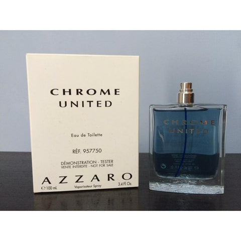 AZZARO Chrome UNITED EDT 100ml for MEN  TESTER