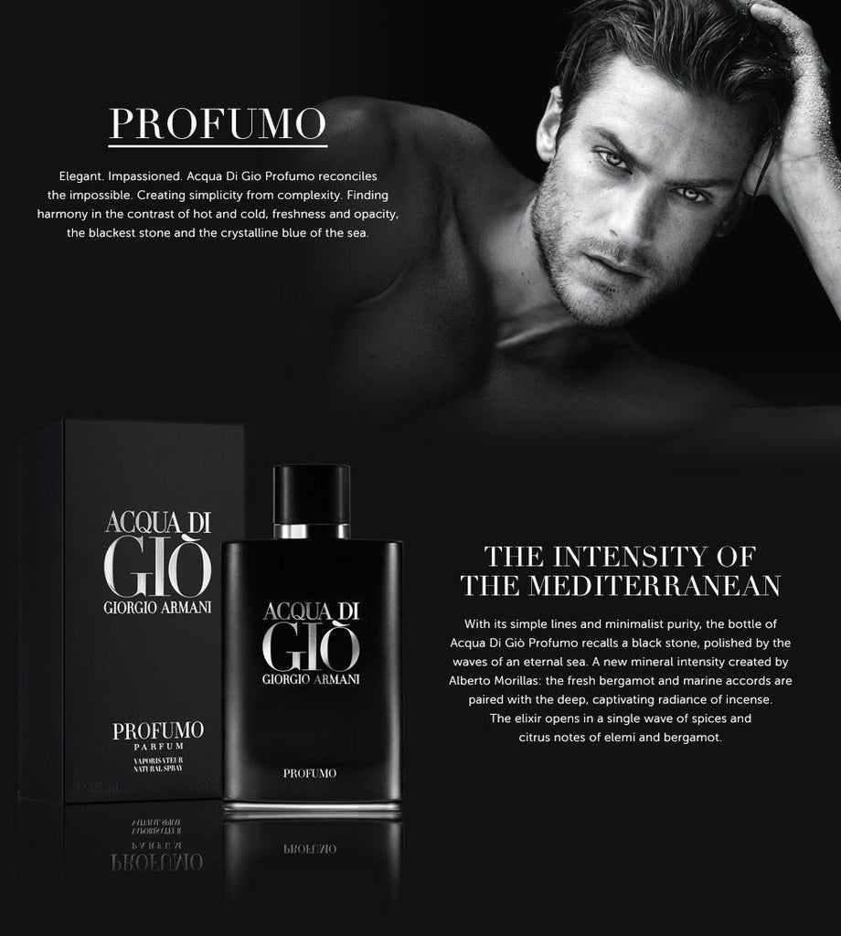 Giorgio Armani Acqua di Gio pour homme for women Profumo review