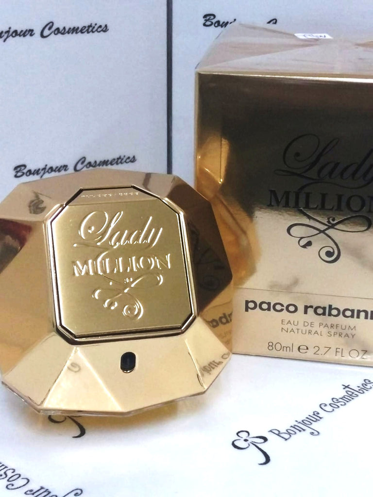 PACO Rabbane Lady MILLION eau de PARFUM 80ml (ORIGINAL Packaging)