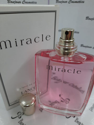 MIRACLE L'eau de PARFUM LANCOMEparis 100ml (TESTER Packaging)