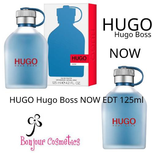 HUGO Hugo Boss NOW EDT 125ml for MEN