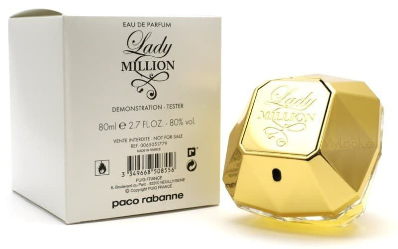 Tester - Paco Rabanne Lady Million EDP - BonjourCosmetics.net