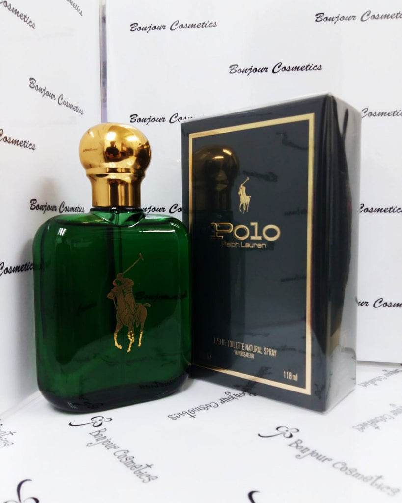 RALPH Lauren POLO eau de toilette 118ml for MEN (ORIGINAL Green Bottle)