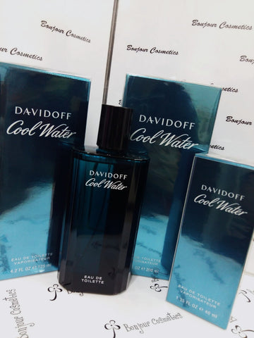 DAVIDOFF Cool Water EDT 200ml / 125ml / 75ml / 40ml for MEN