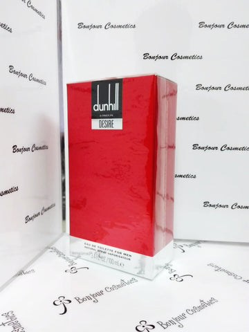 DUNHILL LoNDON DESIRE ReD eau de toilette 100ml (ORIGINAL Packaging)