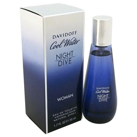 Davidoff Cool water night Dive(WOMAN/EDT) - BonjourCosmetics.net