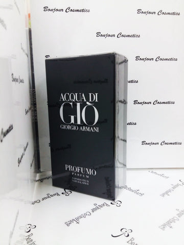 ACQUA di GIO giorgio armani PROFUMO parfum 125ml (ORIGINAL Packaging)
