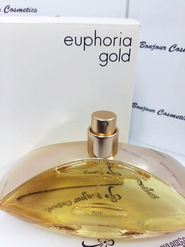 CALVIN Klein EUPHORIA gold limited edition EDP 100ml (TESTER Packaging)