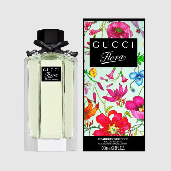 GUCCI FLORA Gracious Tuberose EDT 100ml and (EDT 100ml TESTER)