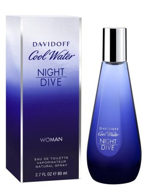 Davidoff Cool water Night Dive (WOMAN/EDT) - 80ML